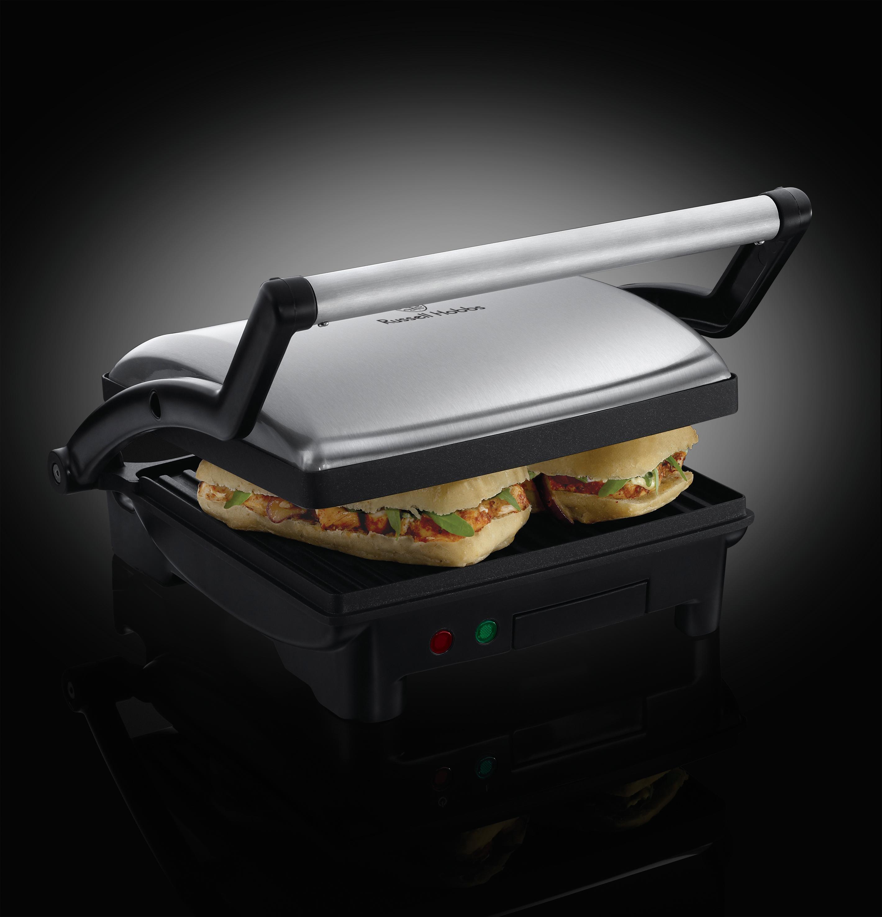 russell hobbs panini grill 17888 56 j lensen huishoud b v. Black Bedroom Furniture Sets. Home Design Ideas