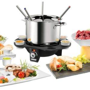 Unold vlees/kaasfondue RVS 48645